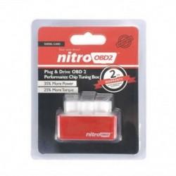 Piros Drive Nitro obd2 ECO Chip üzemanyag-megtakarító hangolókészlet dízel / benzin autóhoz Új