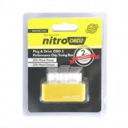 Sárga Drive Nitro obd2 ECO Chip üzemanyag-megtakarító hangolókészlet dízel / benzin autóhoz Új
