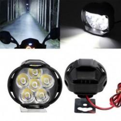 2x Spotlight univerzális LED motorkerékpár fényszóró tükör szerelés köd DRL   kapcsolókészlet
