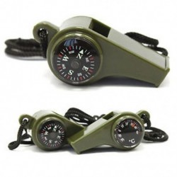 3 in1 kültéri túrázás kemping sürgősségi túlélési felszerelés síp kompass hőmérő