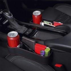 Autósülés Crevice Box tároló csésze ital szervező Auto Gap zseb tároló tartó