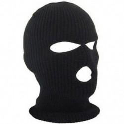 * 3 Fekete Szélálló kültéri sí motorkerékpár kerékpározás balaclava teljes arc maszk nyak sál kalap