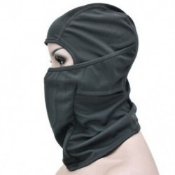 * 9 Szürke Szélálló kültéri sí motorkerékpár kerékpározás balaclava teljes arc maszk nyak sál kalap