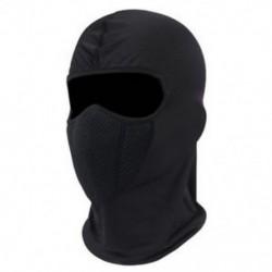 * 1 Fekete Kültéri szélálló sí motorkerékpár kerékpározás balaclava teljes arc maszk kalap nyak sál