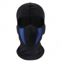 * 1 Fekete   Kék Kültéri szélálló sí motorkerékpár kerékpározás balaclava teljes arc maszk kalap nyak sál