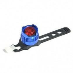 Kék   piros Kerékpár LED töltés hátsó hátsó lámpa figyelmeztetés biztonsági lámpa piros fény 3 üzemmód