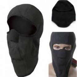 * 4 Fekete Szélálló kültéri sí motorkerékpár kerékpározás balaclava teljes arc maszk kalap nyak sál