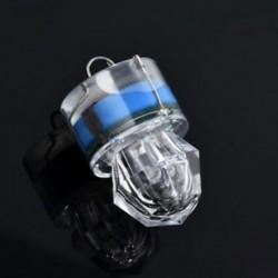 Kék Mini LED mélycsepp víz alatti gyémánt flash halászati könnyű tintahal strobe bait csalit