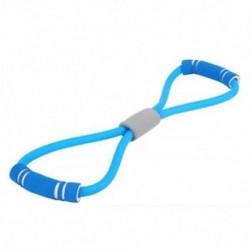 Kék Stretch Band kötél gumi latex kar ellenállás Fitness edzés Pilates jóga edzőterem