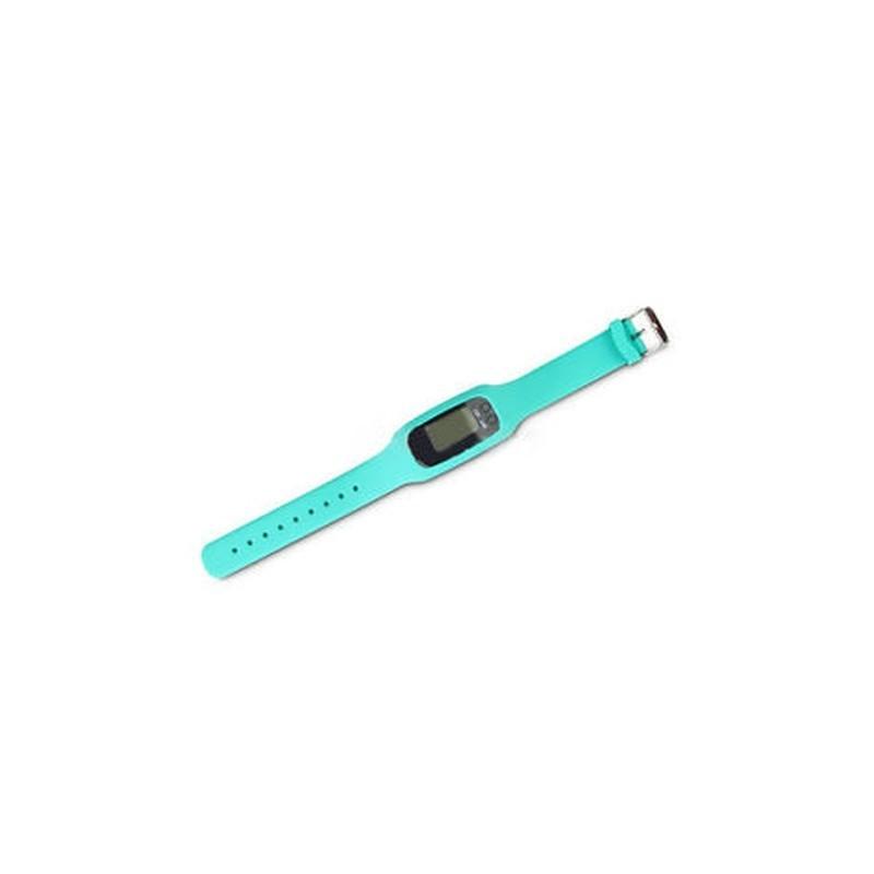 Kék Digitális LCD pedométer csuklós lépés futás távolsági..