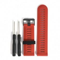 Piros HOT Quick Replacement szilikagél telepítése sávszíj a Garmin Fenix 5X GPS Watchhez