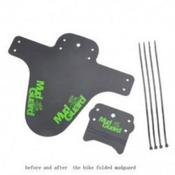 Zöld 2x Kerékpár Könnyűbb hegy MTB Sárvédők Gumiabroncs gumiabroncs Kerékpár sárvédők