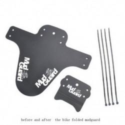 fehér 2Pcs kerékpár legkönnyebb MTB sárvédők gumiabroncs gumiabroncs kerékpáros sárvédőknek
