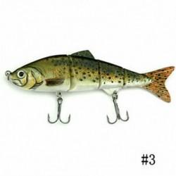 3 * 1PCS Minnow horgászbéka Crank Bait Hooks Bass Crankbaits Fogás a süllyedő popperhez