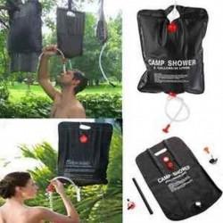 20L napenergiával fűtött hordozható kemping zacskó kültéri túrázás PVC vízzsák