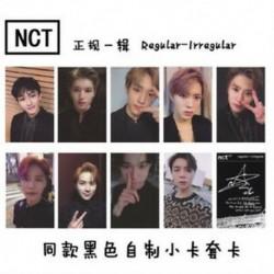 A-10db / szett Hot KPOP NCT 2018 Empathy Hivatalos Photocard Dream Ver. Valóság Válasszon tagokat