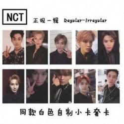 B-10db / szett Hot KPOP NCT 2018 Empathy Hivatalos Photocard Dream Ver. Valóság Válasszon tagokat