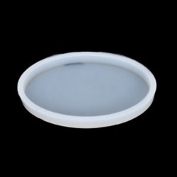 1db ovális (9,5 * 6 cm) 1 / 7pcs szilikon öntvény DIY készítése penész gyanta kézműves nyaklánc medál ékszerek
