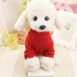 1x egyszínűszínű kutya kisállat  szabadtéri meleg pulóver
