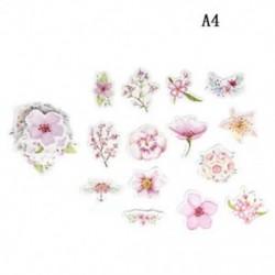 A4 (45db / készlet) DIY Papírnaptár Scrapbook Album napló Könyv dekoráció tervező matrica kézműves Új