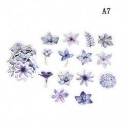 A7 (45Pcs / Set) DIY Papírnaptár Scrapbook Album napló Könyv dekoráció tervező matrica kézműves Új