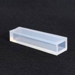 48x9mm-es téglatest forma - Szilikon öntőforma ékszerek - medálok készítéséhez