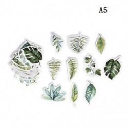 A5 45db Kawaii Journal napló dekor Virág matricák Scrapbooking írószerek JP