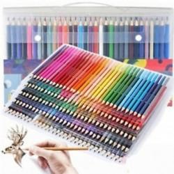 3db / szett 160 színek Fémes színes rajz ceruza színek vonalvezetés Art ceruza DIY