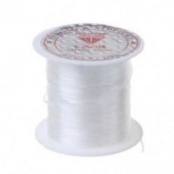 * B-1 Roll Clear 0.8mm / 10M 2PCS / Pack Elasztikus Crystal Beading Cord String szál a DIY nyaklánc karkötőhöz