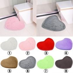 1x Aranyos szív szőnyeg puha nedvszívó fürdő Fürdőszoba kilépő
