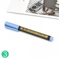 * 3 10 szín DIY fémes festékjelző toll Fémes fényes csillogás kalligráfia művészet