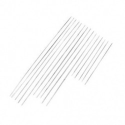 100mm 5db Sok 5Pcs nagy szem ívelt gyöngyfűző tűk DIY könnyű szál ékszer kézműves eszköz