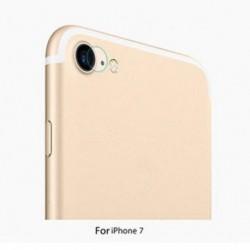 IPhone 7 esetén 9H keménységű hátsó kamera lencse edzett üvegfilmvédő készülék iPhone 7/7 Plus számára