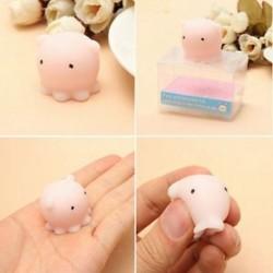 * 8 Mochi lágy állat Squeeze Stretch Compress Squishy szórakoztató gyerekek játék stresszcsökkentő