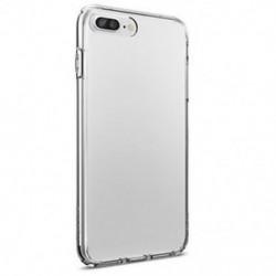 IPhone 7 esetén IPhone 6 7 8 Plus X puha TPU vékony, vékony, átlátszó átlátszó borító tok
