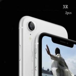 IPhone XR (2db tiszta) Apple iPhone X XS Max XR edzett üveg hátsó kamera lencséje képernyővédő