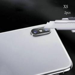 IPhone XS (2db tiszta) Apple iPhone X XS Max XR edzett üveg hátsó kamera lencséje képernyővédő