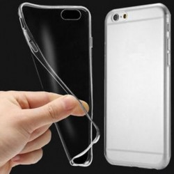 IPhone 7 esetén Puha, tiszta gumi tok Slim ütésálló átlátszó fedél iPhone XS Max XR X-hez