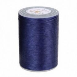 Kék Waxed Thread 0.8mm 90m poliészter kábel varrás varrással bőr kézműves karkötő