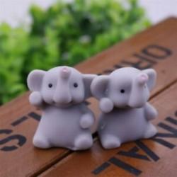 1PCS Szürke elefánt Soft Squishy Slow Rising Charm Squeeze Kid Toys stresszcsökkentő szórakoztató játékgyűjtemény