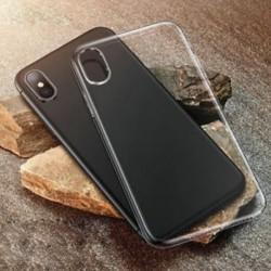 IPhone XR esetén Puha, tiszta tok Slim ütésálló átlátszó gumi fedél iPhone XS Max XR X-hez