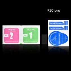 A Huawei P20 Pro készülékhez Tiszta hátsó kamera lencse edzett üveg védőfólia a Huawei P20 Pro Lite készülékhez