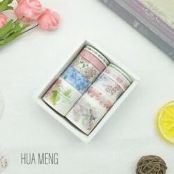 * 2 HUA MUNG 10 tekercs / készlet papír Washi szalag dekoratív Scrapbooking ragasztó matrica kézműves