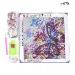 Pillangó (30 x 40 cm) Hot Full Drill 5D gyémánt festés hímzés kereszt kézműves Stitch Kit lakberendezés