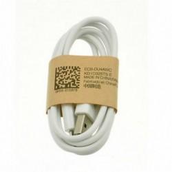 fehér 1M Micro USB adatszinkron töltő töltő kábel kábel Samsung HTC Android telefonhoz