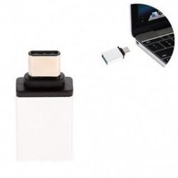 Ezüst USB 3.0 női USB-hez 3.1 C típusú férfi átalakító USB-C OTG adapter átalakító Új