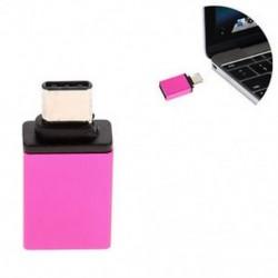 Rózsaszín USB 3.0 női USB-hez 3.1 C típusú férfi átalakító USB-C OTG adapter átalakító Új