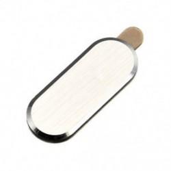 Arany Samsung Galaxy S6 S7 Edge fém hátsó gomb matrica védőbőr bőr Lot