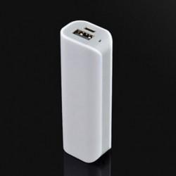 szürke ÚJ 2600mAh USB hordozható külső akkumulátortöltő Power Bank telefonhoz