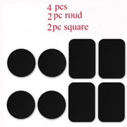 4Pcs fémlemez ragasztó matrica cserélje ki a mágneses autós telefon tartóját